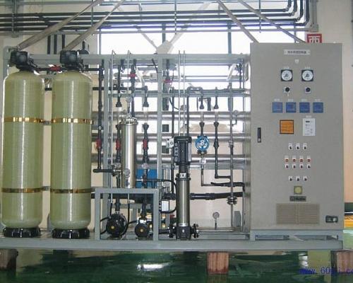去离子水设备的工作原理